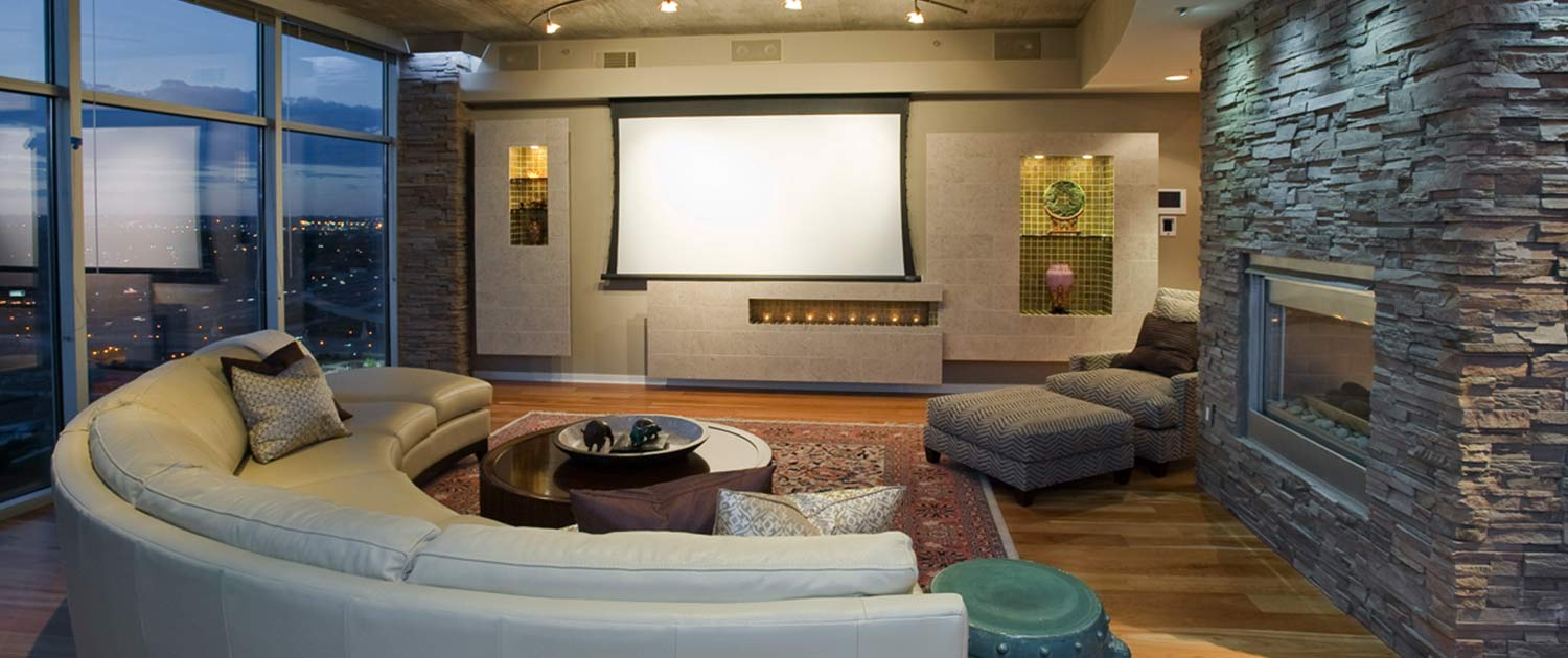 living room design denver